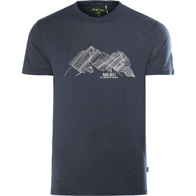 Meru Tumba Shortsleeve Shirt Men blue